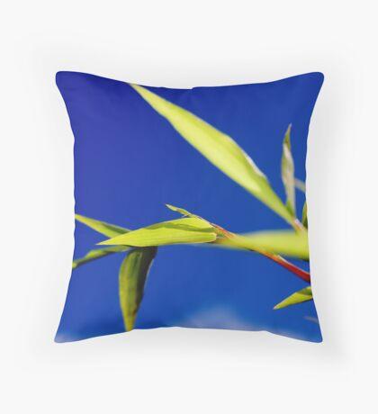 Bamblue Throw Pillow