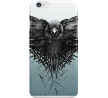 The three  eyed raven of Game of Thrones iPhone Case/Skin