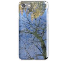 Tree and Sky Reflections iPhone Case/Skin