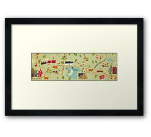 The Windy 'Hood Framed Print