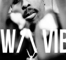 "2Pac ""Raw Vibes"" Sticker"