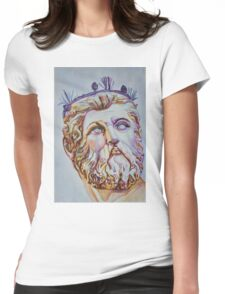 Neptune - From Neptune's Fountain, Florence, Italy Womens Fitted T-Shirt
