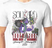 Dancing Mardi Gras Girl Unisex T-Shirt
