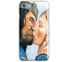 ARWEN & ARAGORN KISS LORD OF THE RINGS iPhone Case/Skin