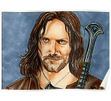 ARAGORN LORD OF THE RINGS Poster