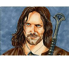 ARAGORN LORD OF THE RINGS Photographic Print