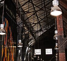 Inside Canberra Glassworks (2) by Wolf Sverak