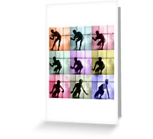 Body Language 28 Greeting Card