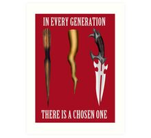 Buffy - In Every Generation... Art Print