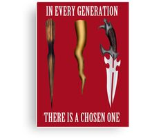 Buffy - In Every Generation... Canvas Print