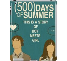(500) Days of Summer: Thoughts.  iPad Case/Skin