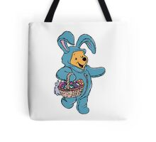 Winnie the Pooh as the Easter Bunny Tote Bag
