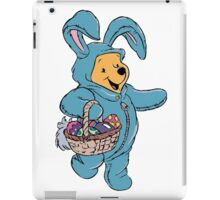 Winnie the Pooh as the Easter Bunny iPad Case/Skin