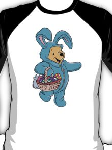 Winnie the Pooh as the Easter Bunny T-Shirt