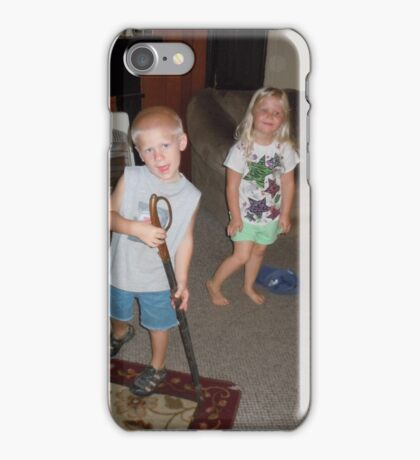 THE LITTLE BLOND BOMB SHELL, WITH TRESSEL iPhone Case/Skin