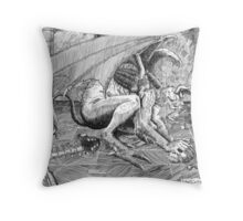 Deviled Egg Throw Pillow