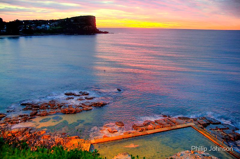 Marvel - Avalon  Beach - Sydney Beaches - The HDR Series by Philip Johnson