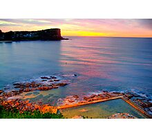 Marvel - Avalon  Beach - Sydney Beaches - The HDR Series Photographic Print