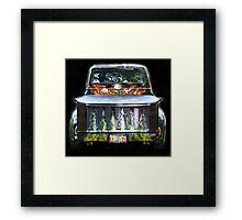 Flaming Hot 1956 Ford Truck Framed Print