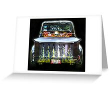 Flaming Hot 1956 Ford Truck Greeting Card