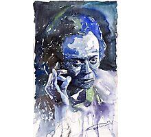 Jazz Miles Davis 11 Blue Photographic Print