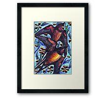 Birds in Spring Framed Print