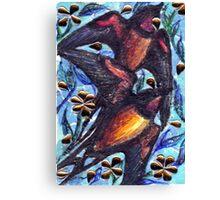 Birds in Spring Canvas Print