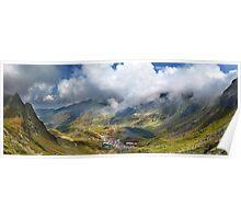 Balea Lac from Fagaras mountains Poster