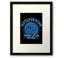 Waterbender Framed Print