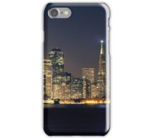 San Francisco Holiday Skyline IV iPhone Case/Skin