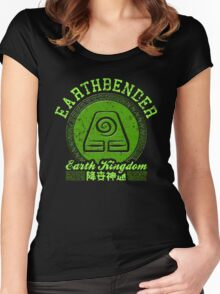Earthbender Women's Fitted Scoop T-Shirt