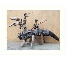Man from la Mancha---the journey Art Print