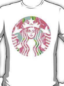 Floral Starbucks T-Shirt
