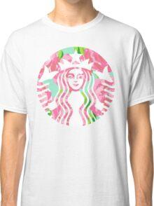 Floral Starbucks Classic T-Shirt