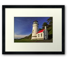 Heceta Head Restored Framed Print