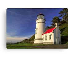 Heceta Head Restored Canvas Print