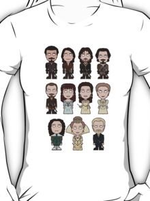 The Musketeers: The Whole Cast (shirt) T-Shirt