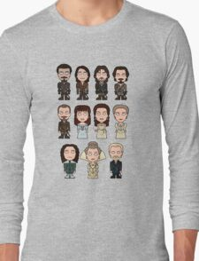 The Musketeers: The Whole Cast (shirt) Long Sleeve T-Shirt