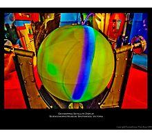 Geo-mapping Satellite Photographic Print