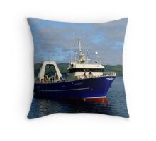 Viking Enterprise Throw Pillow