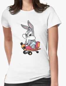 Baby Bugs Bunny Womens Fitted T-Shirt