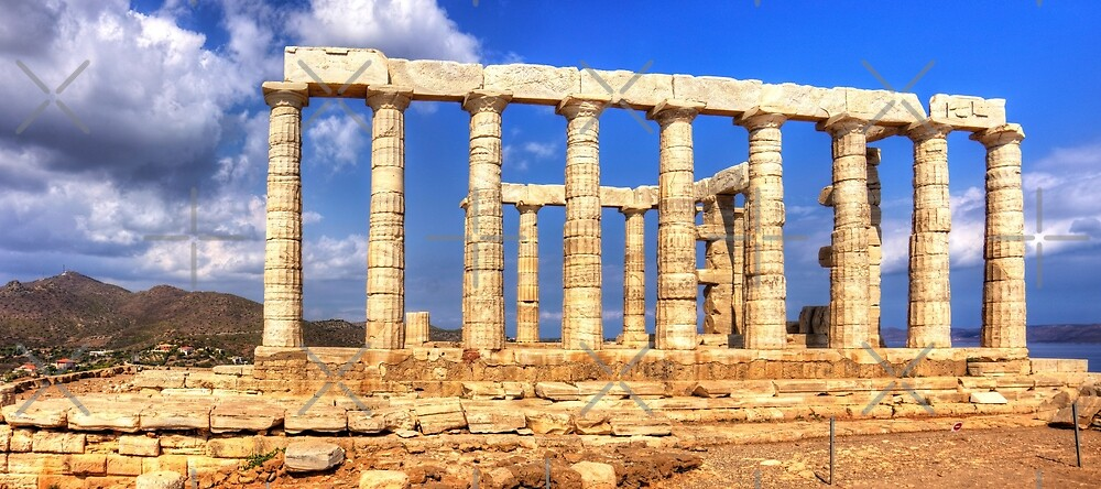 The Temple of Poseidon by Tom Gomez