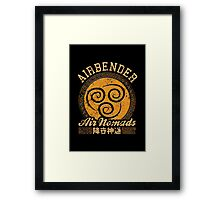 Airbender Framed Print