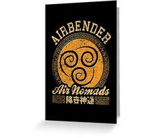 Airbender Greeting Card