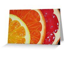 Citrus Hue Greeting Card