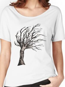 crucifixion in the tree Women's Relaxed Fit T-Shirt