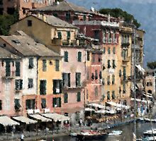 Portofino, Italy by Sheila Say