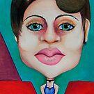 Big head Big lips by msflip