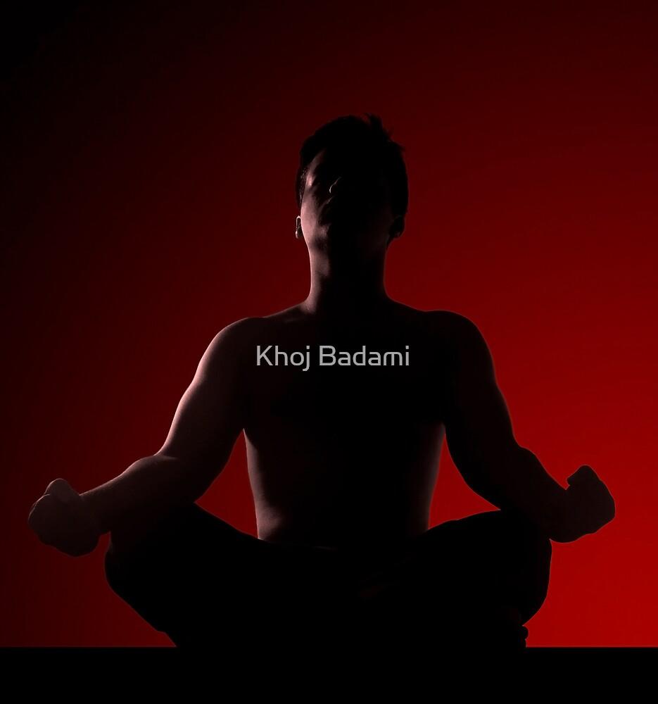 Power of meditiation... by Khoj Badami