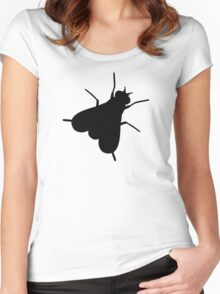 Fly Insect Women's Fitted Scoop T-Shirt